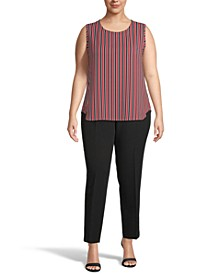 Plus Size Carlyle Striped Top