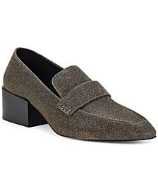 Women's Adealia Block-Heel Loafers