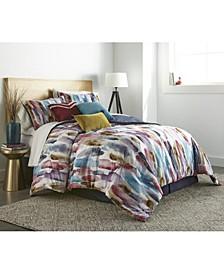 Geneva 7-Piece Queen Comforter Set