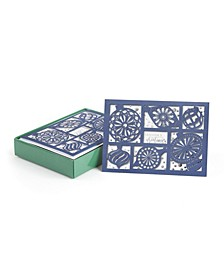 Ornaments Sparkle Holiday Boxed Cards, 12 Cards and 12 Envelopes