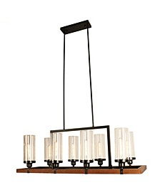 "Baneli 14"" 8-Light Indoor Chandelier with Light Kit"