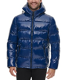 Men's High Shine Puffer Jacket