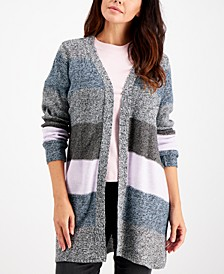Turbo Colorblocked Cardigan, Created for Macy's