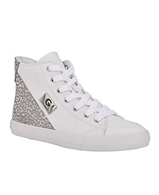 Women's Merica Round Toe High Top Sneaker