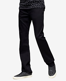 Men's Ricky Straight Fit Jeans with Back Flap Pockets