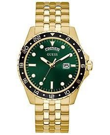 Men's Gold-Tone Stainless Steel Bracelet Watch 44mm