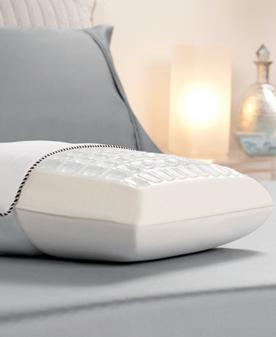 Closeout comfort revolution cooling cubes hydraluxe gel for Comfort revolution hydraluxe gel memory foam bed pillow