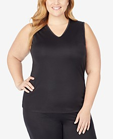Plus Size Softwear V-Neck Tank Top
