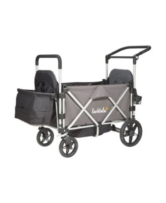 Larktale Caravan Stroller Wagon Chassis - Mornington Gray