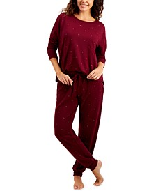 French Terry Pajama Set, Created for Macy's