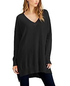 High-Low Sweater Tunic