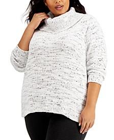Plus Size Cowlneck Sweater