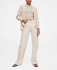 Women's Unstructured Flowy Blazer