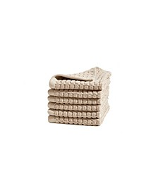 Quick Dry 6 Pieces Wash Towel Set