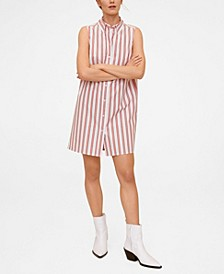 Women's Cotton Shirt Dress