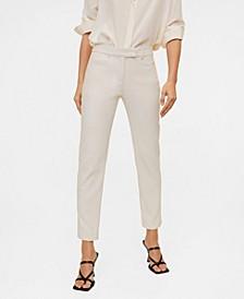 Women's Cotton Crop Pants