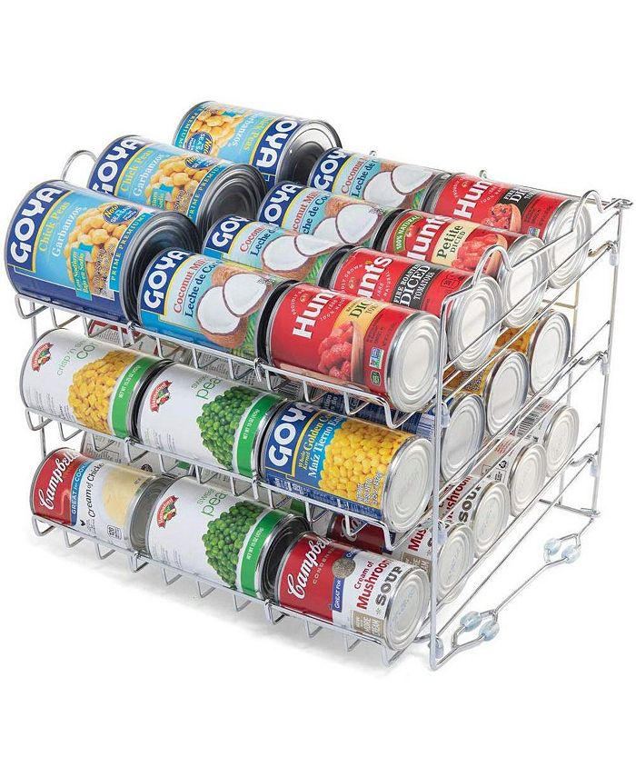 HomeIT - Stackable Can Rack Organizer, Holds up to 36 Cans
