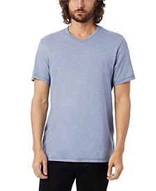 Men's Weathered Slub Keeper V-neck T-shirt