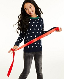 Big Girls Dot Sweater, Created for Macy's
