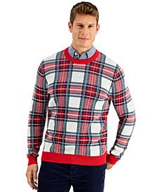 Men's Plaid Sweater, Created for Macy's