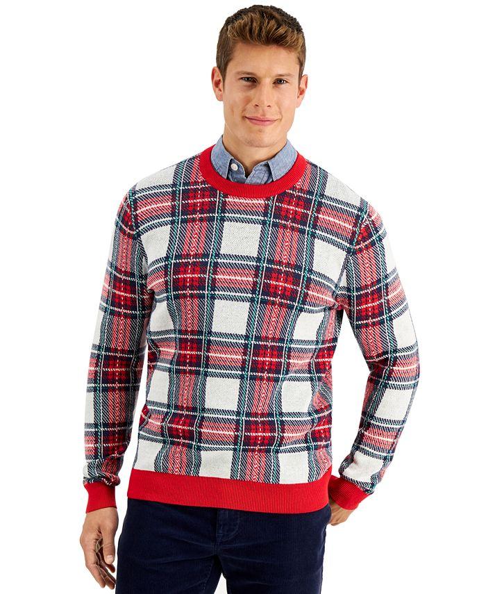Charter Club - Men's Plaid Sweater