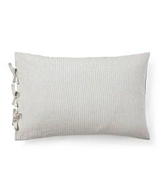 """Gavin Yarn-Dye Throw Pillow, 24"""" X 16"""""""