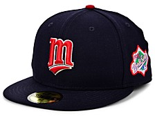 Minnesota Twins World Series Patch 59FIFTY Cap