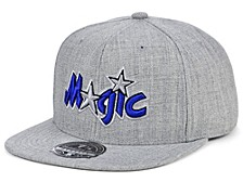 Orlando Magic Hardwood Classic Team Heather Fitted Cap