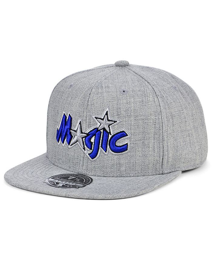 Mitchell & Ness - Orlando Magic Hardwood Classic Team Heather Fitted Cap