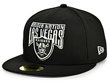 Las Vegas Raiders Block Arch 59FIFTY Cap