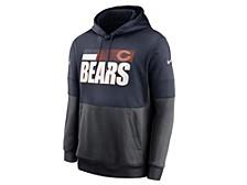 Chicago Bears Men's Sideline Team Lockup Therma Hoodie