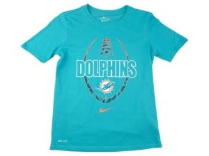 Nike Miami Dolphins Youth Football Icon T-Shirt