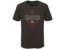 Cleveland Browns Kids Football Icon T-Shirt