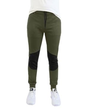 Men's Moisture Wicking Moto Zipper Pockets Joggers