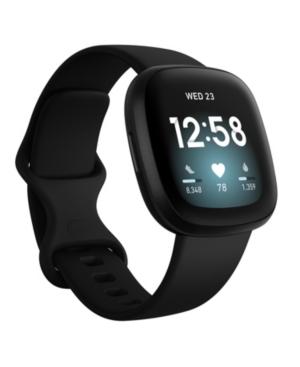 Versa 3 Black Strap Smart Watch 39mm