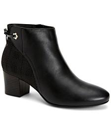 Jovanaa Block-Heel Booties, Created for Macy's