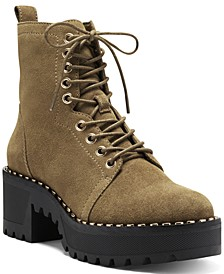 Women's Mecale Lug Sole Combat Booties