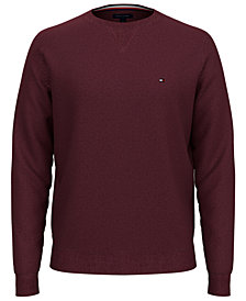 Tommy Hilfiger Men's Signature Solid Crew Neck Sweater