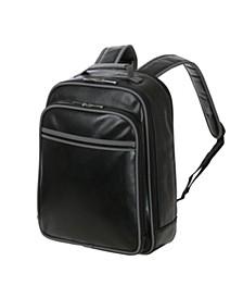 "Vegan Leather 15"" Laptop Backpack"