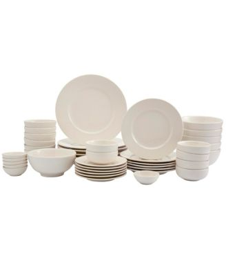 Inspiration by Denmark Amelia 42pc Dinnerware Set,  Service for 6, Created for Macy's