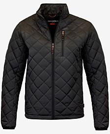 Men's Diamond Quilted Jacket