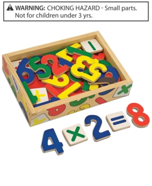 Melissa and Doug Kids Toy Magnetic Wooden Numbers