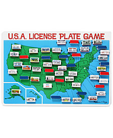 Melissa and Doug Kids Toy, U.S.A. License Plate Game