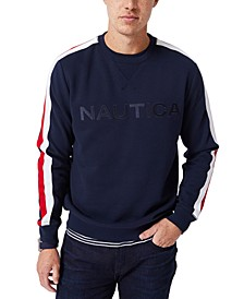 Men's Embroidered Logo Fleece Sweatshirt