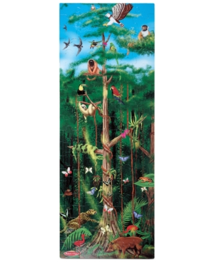 Melissa and Doug Kids Toy Rain Forest 100Piece Floor Puzzle