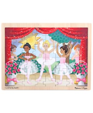 Melissa and Doug Kids Toy, Ballet Performance 48-Piece Jigsaw Puzzle 1095800