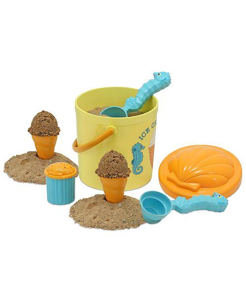 Melissa and Doug Kids Toy, Speck Seahorse Sand Ice Cream Set