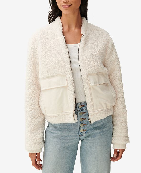 Lucky Brand Utility Teddy Jacket
