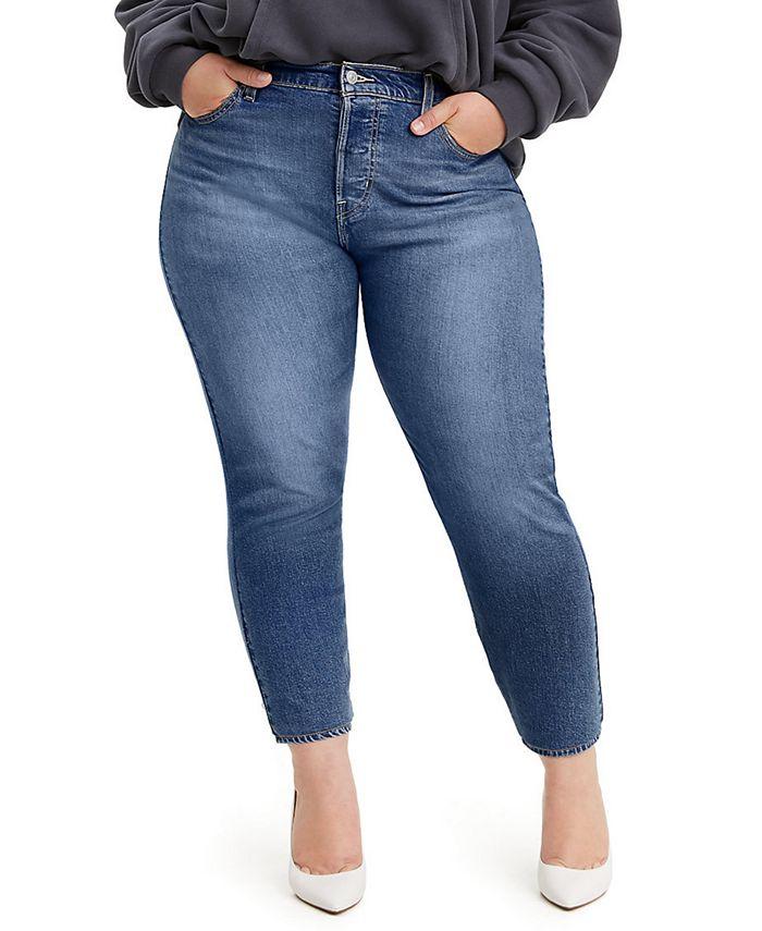 Levi's - Trendy Plus Size Wedgie Skinny Jeans