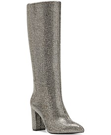 I.N.C. Women's Paiton Block-Heel Boots, Created for Macy's